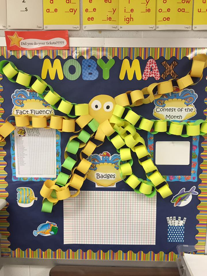 MobyMax_Inspired_Bulletin_Board_Under_the_Sea_Theme
