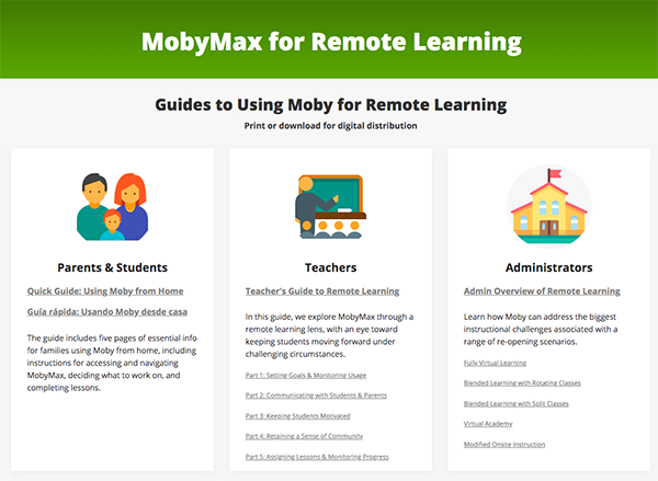 Moby Remote Learning